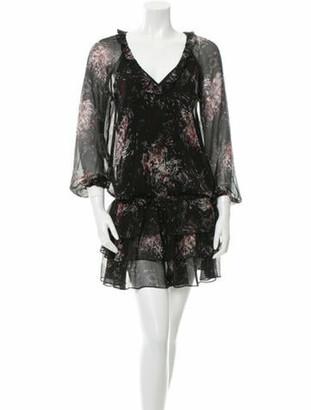 Elizabeth and James Beatriza Silk Dress w/ Tags Black