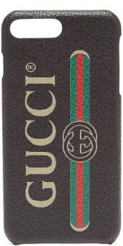 Gucci Logo-print Iphone 8 Plus Case - Mens - Black