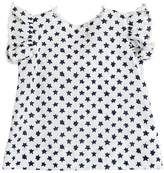 Il Gufo Star Printed Cotton & Linen Blend Shirt