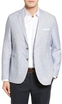 Peter Millar Men's Island Pinstripe Linen Sport Coat