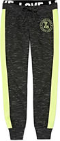 Asstd National Brand Inspired Hearts Side Stripe Joggers - Girls