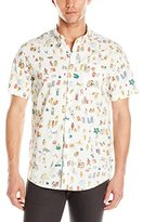 Billabong Men's Where's Occy Woven Short Sleeve Shirt