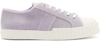 Primury - Divid Organic Cotton-canvas Trainers - Light Purple