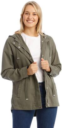 Grab Khaki Utility Jacket