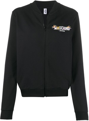 Moschino Swim zipped sweatshirt