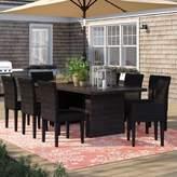 Tegan Sol 72 Outdoor 9 Piece Dining Set Sol 72 Outdoor