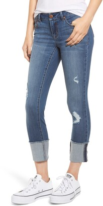 1822 Denim Cuffed Jeggings