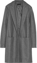 Elizabeth wool-blend felt coat