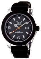Ice Watch Ice-Watch Men's XX.BK.X.X.09 Black Silicone Quartz Watch with Black Dial