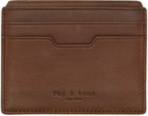 Rag & Bone Brown Leather Card Holder