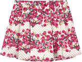 Miss Blumarine Satin skirt