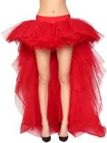 Moschino Asymmetrical Tulle Skirt