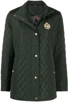 Lauren Ralph Lauren Quilted Long-Sleeve Jacket