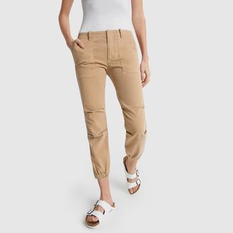 Nili Lotan Cropped Military Pants