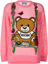 Moschino Teddy swing sweater