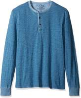 Lucky Brand Men's Long Sleeve Knit Henley