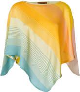 Missoni colour-block draped top