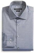 John Varvatos 'Soho' Slim Fit Check Stretch Dress Shirt
