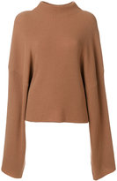 Petar Petrov large sleeves ribbed jumper