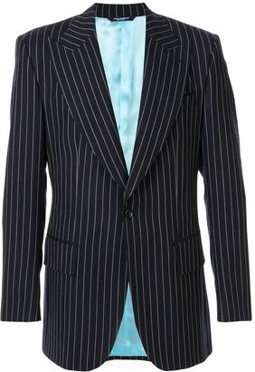 Dolce & Gabbana Pinstripe Suit Jacket