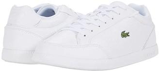 Lacoste Graduate Cap 0120 1 SFA (White/White) Women's Shoes