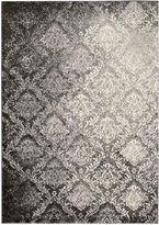 Kathy Ireland Royal Shimmer Wool Shag Rectangular Rug