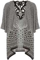 Oriental Lace Back Kimono