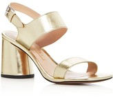 Marc Jacobs Emilie Metallic Strappy Sandals