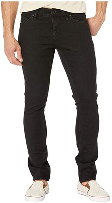 Volcom 2X4 Skinny Fit Denim (Blackout) Men's Jeans