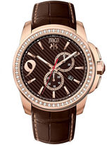 Jivago Gliese Mens Brown Leather Strap Watch