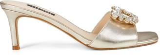Nine West Masen Heeled Slide Sandals