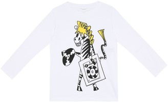 Stella McCartney Kids Printed cotton top