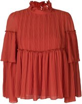 See by Chloe tiered flouncy blouse