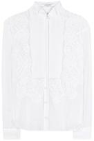 Givenchy Lace Silk Shirt