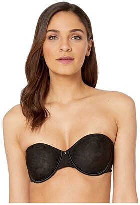 Le Mystere Lace Perfection Unlined Strapless Bra 3315 (Natural) Women's Bra