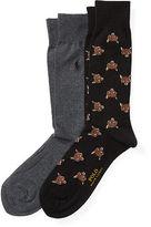 Polo Ralph Lauren Fox Trouser Sock 2-Pack