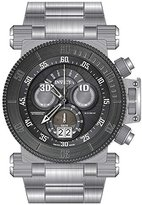Invicta Men's 'Coalition Forces' Swiss Quartz Stainless Steel Casual Watch, Color:Silver-Toned (Model: 17646)
