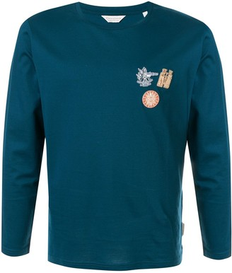 Gieves & Hawkes long sleeved cotton T-shirt