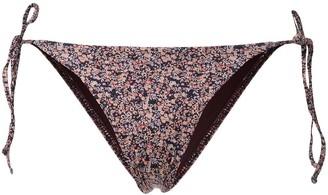 Matteau Floral String Bikini Botttoms