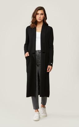 Soia & Kyo ANNABELLA straight-fit maxi-length coatigan
