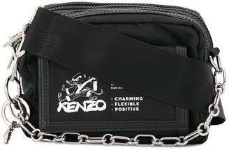 Kenzo Kung-Fu Rat print crossbody bag