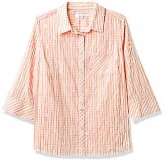 Foxcroft Women's Plus Size Button Up