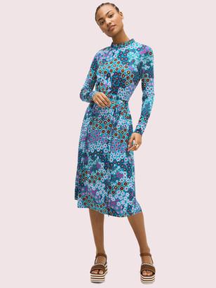 Kate Spade Pacific Petals Knit Dress