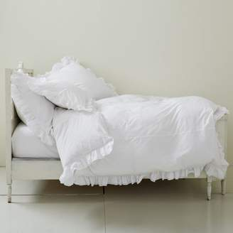 Liliput Ruffle Duvet Cover, Full/Queen