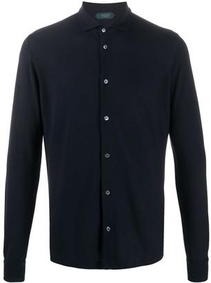 Zanone Regular Fit Shirt Polo Neck