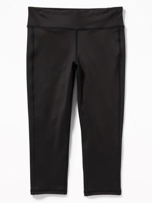 Old Navy Go Dry Shade Short Capri Leggings for Girls