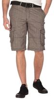 Division E Plaid Cargo Shorts