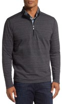 Robert Barakett Men's Marcel Quarter Zip Pullover