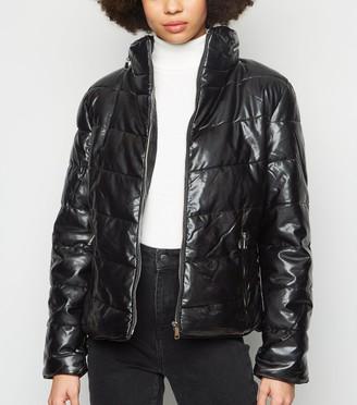 New Look Parisian High Neck Puffer Jacket