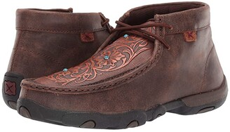 Twisted X WDM0081 (Brown/Tooled Flowers) Women's Boots